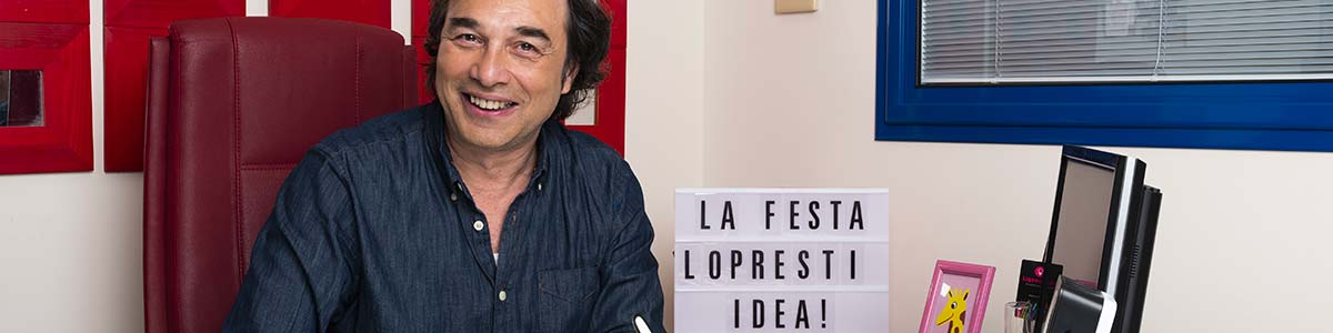 Filippo Lopresti in ufficio